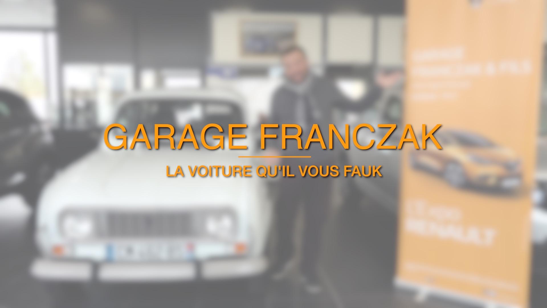 Franczak, la voiture qu'il vous fauk